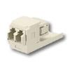 Mini-Com LC Sr./Jr. Fiber Optic Adapter Modules with Zirconia Ceramic Split Sleeve