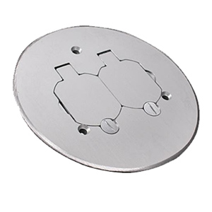 Legrand - Wiremold Brass or Brushed Aluminum Duplex Cover Plate ...