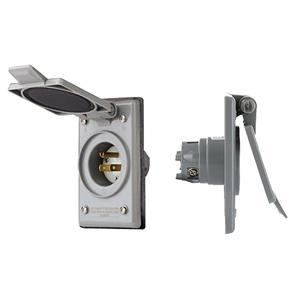 15A-125V Standard Wire Wells NEMA 5-15P Power Inlet