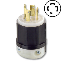 Leviton 30 Amp 480V Locking Plug
