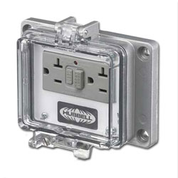 Panel-Safe 20A 125V, GFCI with In-Cabinet Receptacle
