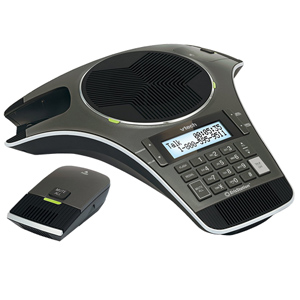 ErisStation Conference Phone with Two Wireless Mics