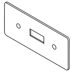 Legrand - Wiremold 5507 Series™ Switch Faceplate