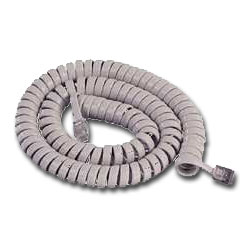 MISC Coiled Handset Cord (12')