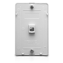 Wall Phone Plate - 6P6C
