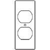 RFB9 and RFB11 Series Duplex Receptacle Device Plates