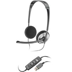 Plantronics .Audio 478 Fold Flat USB Stereo Headset, Skype Certified