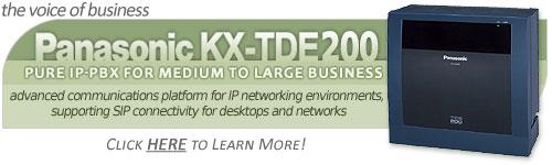 Panasonic KX-TDE200 Converged IP PBX