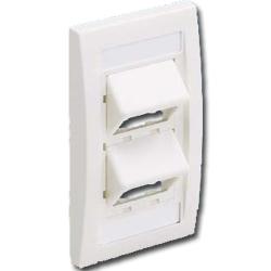 Mini-Com Sloped Executive Series Faceplate Kit