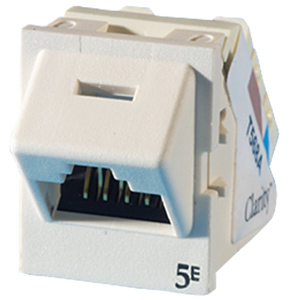 Legrand - Ortronics Clarity 5E TracJack™ 45 degree Fog White