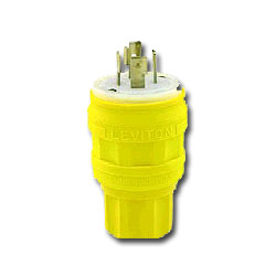 Leviton Wetguard Plug