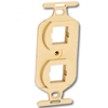 Duplex 106 Plastic Mounting Plate