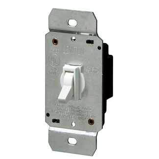 Single Pole Toggle Dimmer