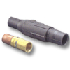 22 Series Ball Nose, Female In-Line Latching Connector and Insulator 350-500 MCM - Crimped