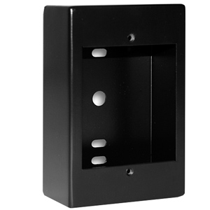 Black Surface Mount Box