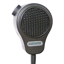 Astatic Small Format Omnidirectional Palmheld Dynamic Paging Microphone