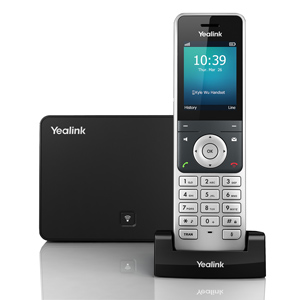 Cordless VoIP solution for small businesses