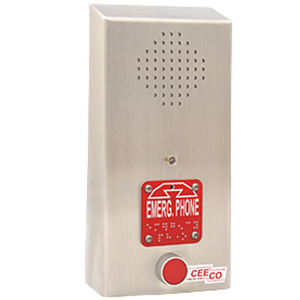Emergency Speakerphone with ADA Features