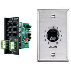 Bogen Line/Microphone Input with Remote Volume Control