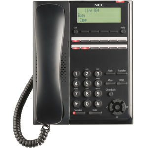 SL2100 Digital 12 Button Telephone (Black)