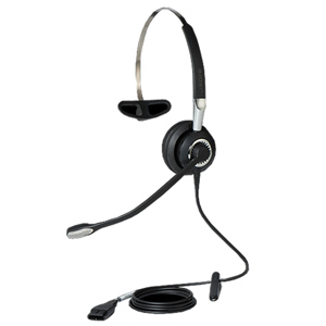 Jabra Biz 2400 II Monaural Quick Disconnect Noise Cancelling 3 in 1 Headset