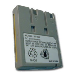 MISC BT-990 - 900MHz Cordless Replacement Battery (NiCd)
