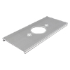 AL3300 Single Receptacle Cover Plate