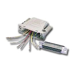 Siemon DB25 to 8-Position, 8-Conductor Modular RS232 Kit
