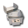 Raised Floor Enclosure for Active Components, 7 RMU Enclosure for 14