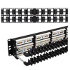 48 Port Cat 6 Angled Patch Panel