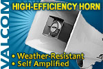 High-Efficiency Horn, 5-Watt