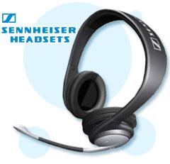 sennheiser headsets, multimedia headsets, office headsets, mobile headsets