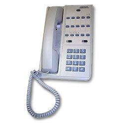 ITT Cortelco 2-Line Patriot Speakerphone with Dataport