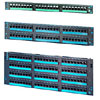 Clarity 6 Modular to 110 High Density Patch Panel with Eight-Port Modules