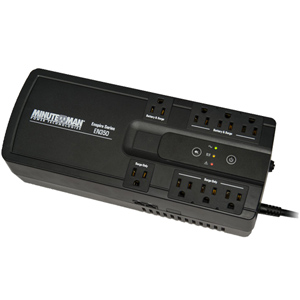350 VA Stand-by UPS with 8 outlets