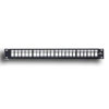 QuickPort Mulitmedia Patch Panel with Cable Management Bar