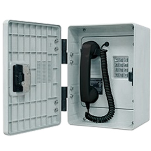 256 Series Outdoor Phone with Polyester Enclosure