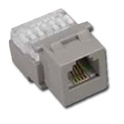 Allen Tel CAT 3 Compact 6 Conductor Jack Module