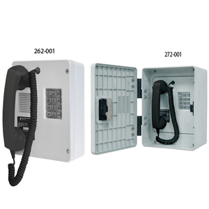 Intrinsically-Safe (I.S.) Telephone Only