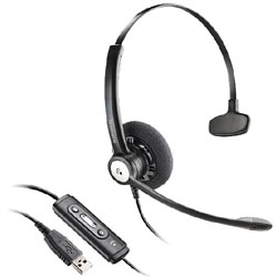 Plantronics Blackwire C610-M Monaural USB Headset Optimized for Microsoft Office Communicator 2007