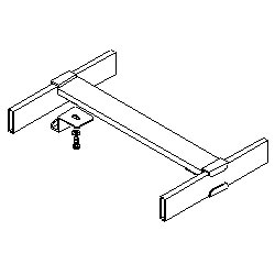 Southwest Data Products Cable Runway Movable Cross Member