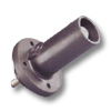 22 Series 690Amp Male Ball Nose Panel Receptacle