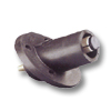 22/23 Series 690Amp Male Ball Nose Panel Receptacle