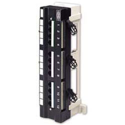 Hubbell Category 5e Universal 12 Port Patch Panel