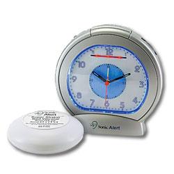 Sonic Alert Sonic Boom Analog Alarm Clock
