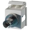 1-ST Fiber Keystone Module, Fog White