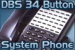 Panasonic 34 Button Standard Phone