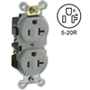 Side Wired 20A 125V Duplex Receptacle