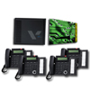 SBX 6X16 Basic System with 3X8 Expansion Board and  (8) 24-Button Digital Telephones