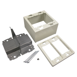 Legrand - Wiremold 2400D Series Divided 2-Gang Device Box Fitting